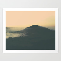 SLO Sunrise Art Print by see BOLD