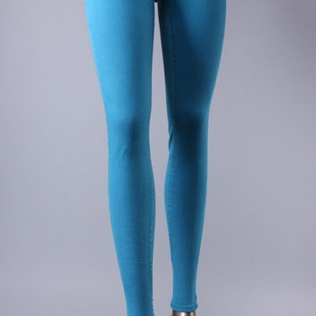 Flying Monkey Skinny Jeans in Ocean Blue