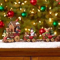 Holiday Train Figurine Set