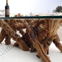 Old Vine Grapevine Coffee Table - 100% recycled and organic Limited Edition