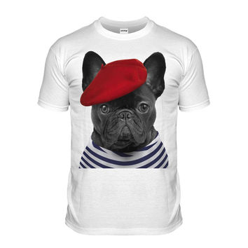 French Frenchies Mens T Shirt