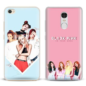 BLACKPINK Kpop Girl group Phone Case Shell Cover For Xiaomi Redmi Note 4 4X 5A 6 6A PRO Mi 8 5 5S PLUS Max A1 Note 2 3