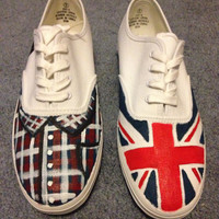 Hand Painted Liam Payne Shoes