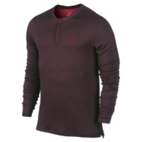 Nike Wool Henley Men's Tennis Shirt