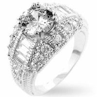 Dannicka Engagement Ring, size : 10