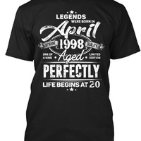 Legends Were Born In April 1998