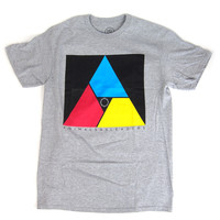 Animals As Leaders: Triangle Shirt - Heather Grey