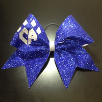 Royal Blue Sparkle Bow