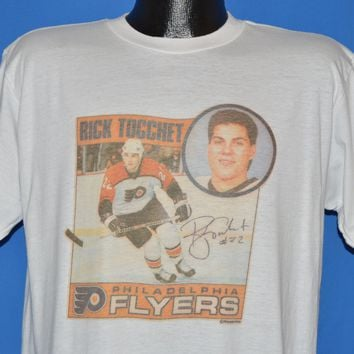 90s Philadelphia Flyers Rick Tocchet #22 t-shirt Large