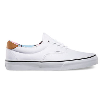 Vans C&F Era 59 (true white/black)