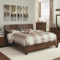 Woodbridge Queen Size Platform Bed