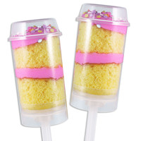 Push Pop Container with Lid