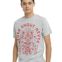 Never Shout Never Lucky Cat T-Shirt