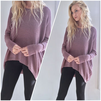 Mauve Legging Sweater Top