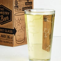 Nifty Nerd Pour-ganic Chemistry Glass by ModCloth