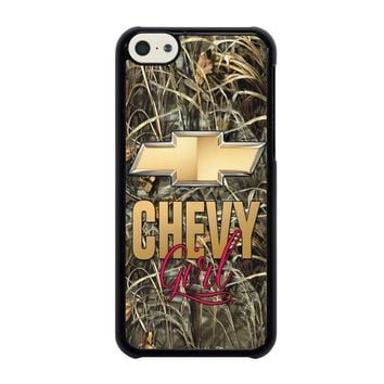 camo chevy girl iphone 5c case cover  number 1