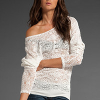 JEN'S PIRATE BOOTY Avatar Winged Sweater in White at Revolve Clothing - Free Shipping!