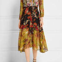 Duro Olowu - Ometa floral-print georgette dress