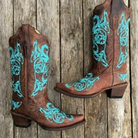 CORRAL BOOTS DAHLIA BOOTS