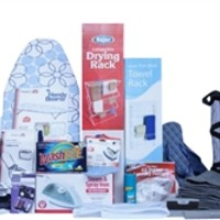 Laundry & Bath - Premium College Dorm Room Kit - Shower Essentials & Laundry Supplies