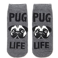 Pug Life Ankle Socks