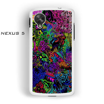 trippy alice in wonderland for Nexus 4/Nexus 5 phonecases