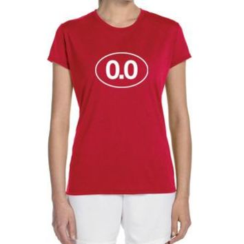 "Women's Short Sleeve Performance ""0.0"" Technical T-Shirt"