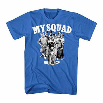 Sandlot My Squad Blue T-Shirt