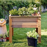 Square-Foot Raised Bed Planter