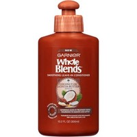 Garnier Whole Blends Coconut Oil & Cocoa Butter Extracts Smoothing Leave-In Conditioner, 10.2 fl oz - Walmart.com