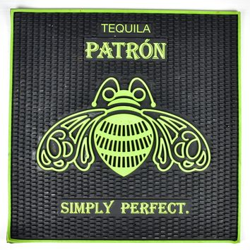 "Patron Bar Mat - Simply Perfect - Tequila - Spill Mat 17"" x 17"""