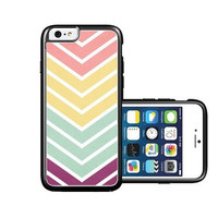 RCGrafix Brand Multi Big Chevron iPhone 6 Case - Fits NEW Apple iPhone 6