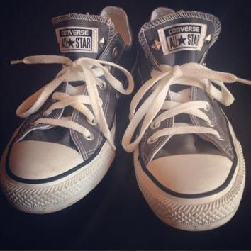 Studded Custom Gray Converse All Stars - Chuck Taylors! ALL SIZES & COLORS!!!