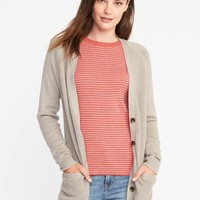 Textured-Stitch Boyfriend Cardi for Women | Old Navy