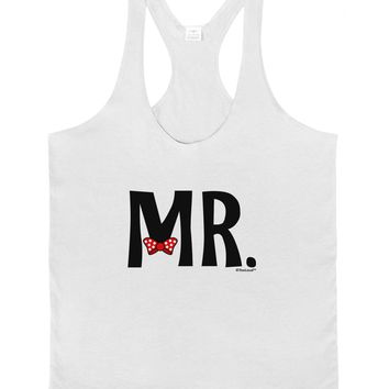 Matching Mr and Mrs Design - Mr Bow Tie Mens String Tank Top by TooLoud