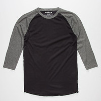HURLEY Dri-FIT Staple Mens Baseball Tee | L/S & Baseball Tees