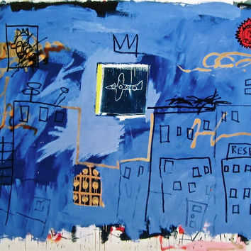 Untitled (1981), Giclee, Jean-Michel Basquiat
