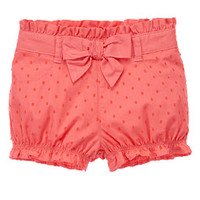 Bow Swiss Dot Bloomers
