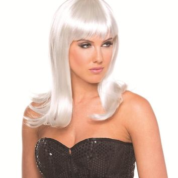 Bewicked Female Solid Color Hollywood Wig BW094WT