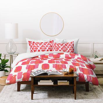 Natalie Baca Paint Play Two Duvet Cover