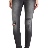 Black Orchid Skinny in Black Rock