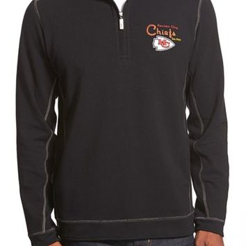 Men's Tommy Bahama 'Ben & Terry - Kansas City Chiefs' NFL Quarter Zip Pullover,