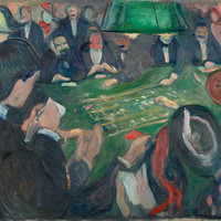 Edvard Munch - At The Roulette Table In Monte Carlo