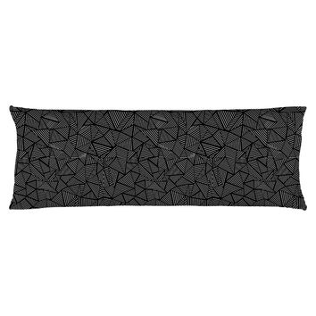Ab Linear Black Body Pillow