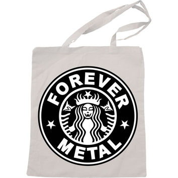 Starbuck Forever Metal Handmade Bag, Canvas Bag, Tote Bag