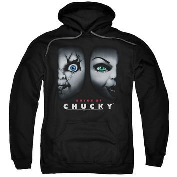 Bride Of Chucky - Happy Couple Adult Pull Over Hoodie