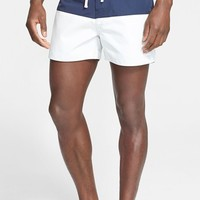Men's Saturdays NYC 'Ennis' Colorblock Swim Shorts,