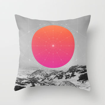 Middle Of Nowhere I Throw Pillow by Soaring Anchor Designs