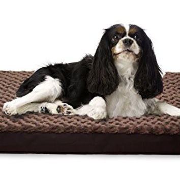 Furhaven Deluxe Orthopedic Mattress Pet Bed for Dogs and Cats