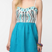 Urban Outfitters - Staring at Stars Color Pop Embroidered Sundress